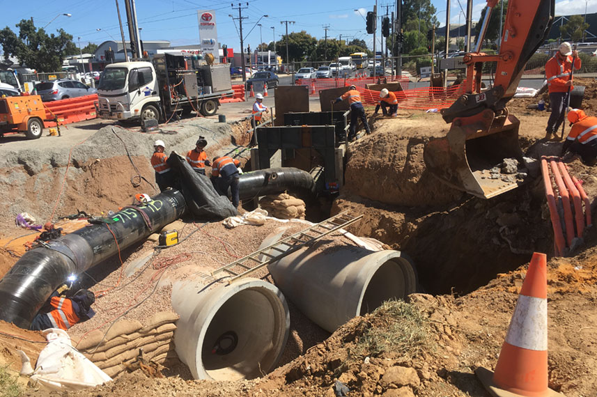 Port Road Drainage Project (Stage 2) – Stormwater Management